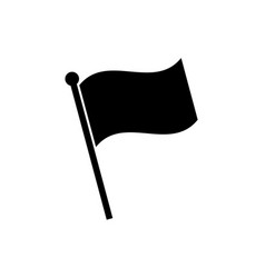 flag icon in flat style vector image