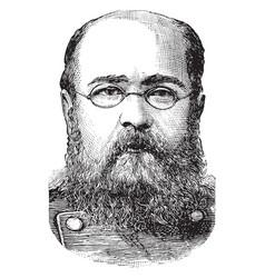 General alexander komaroff vintage vector