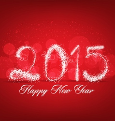 Happy new year abstract light background vector