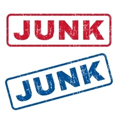 Junk Rubber Stamps vector