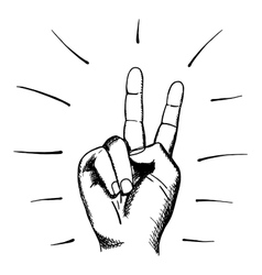 Peace Sign Hand Cartoon Vector Images (over 2,600)
