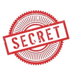 Secret stamp rubber grunge vector