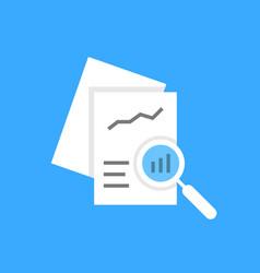 White document auditing like assessment vector