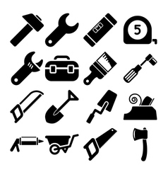 Tools Icons vector image