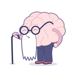 Age Brain collection vector image