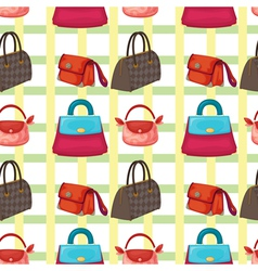 Bags and purses wallpaper vector