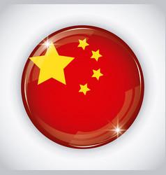china flag design vector image