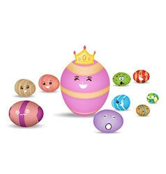 Eggs Princess vector