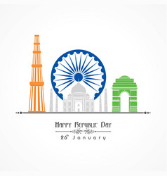 Republic Day Charkha Vector Images (39)