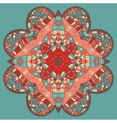 Mehndi like flower vector
