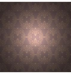 Rich floral ornament Baroque Wallpaper vector