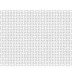 Seamless pattern waves background vector image vector image