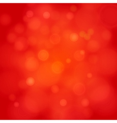 merry christmas red bokeh background vector image vector image