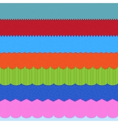Set of 7 header backgrounds vector image vector image