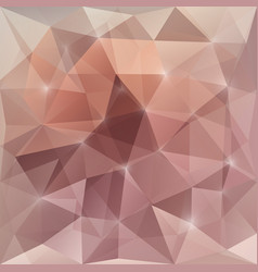Abstract background with triangular mosaic vector