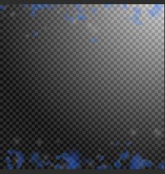 dark blue flower petals falling down cool romanti vector image