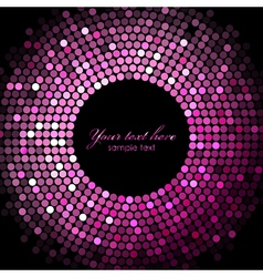 Disco lights background vector