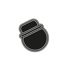 farmer icon isolated vector image