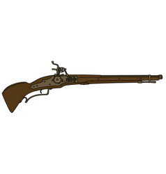 Historical rifle vector