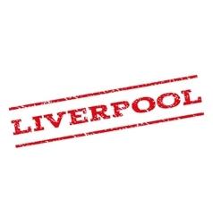 Liverpool watermark stamp vector