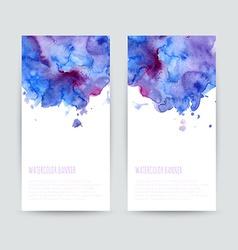 Set two brochures vector