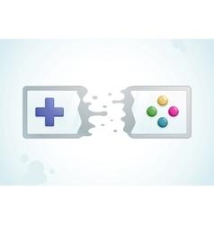Split gamepad vector