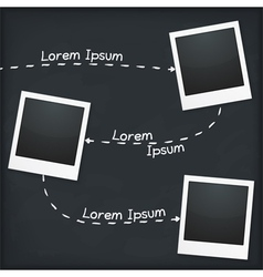 Three Photo Frames vector