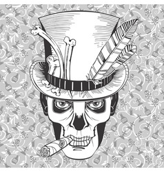 Day of the dead baron samedi image vector