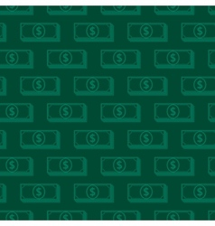 seamless background with dollar signs money vector image