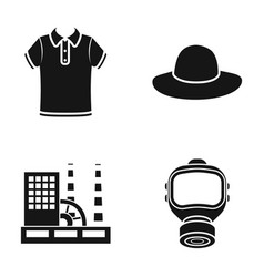 Tool textiles ecology and other web icon in vector