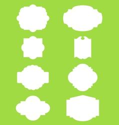 Vintage Labels Borders Frames vector image vector image