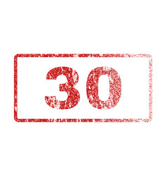 30 rubber stamp vector
