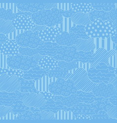 abstract seamless pattern with vector image