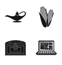 Accessories bank nature and other web icon in vector