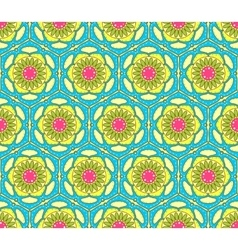 Bright seamless paisley pattern vector