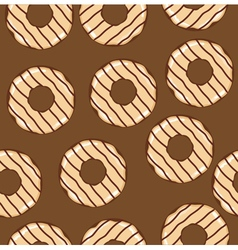 Donuts seamless vector
