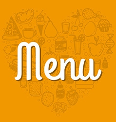Food design vector image