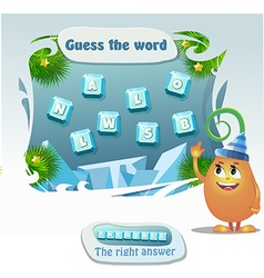 Guess the word vector