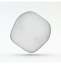 Lattice Geometric Polygonal Element 3d Grid vector