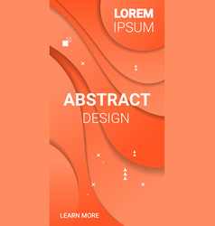 paper cut 3d abstract background banner colorful vector image