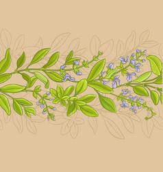 Sage pattern vector