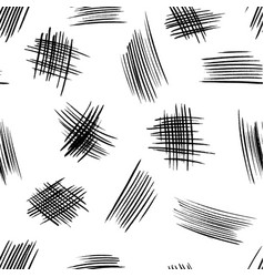 Seamless pattern with hand drawn rough shapes vector