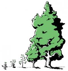 Treegrowth vector