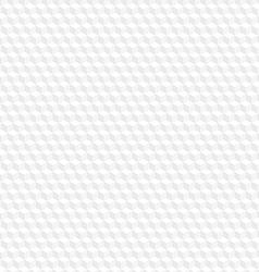 White hexagon seamless background vector image vector image