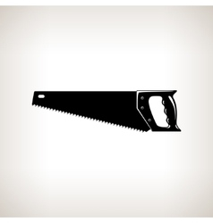 Rip saw agricultural tool vector
