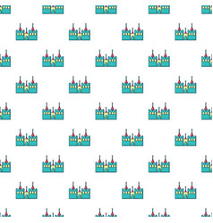 bouncy castles pattern seamless vector image