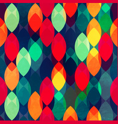 bright drop seamless pattern vector image