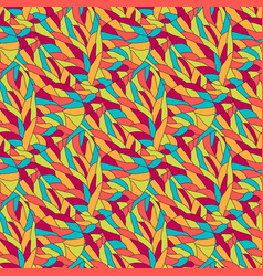 Fashion bright pattern wavy seamless background vector