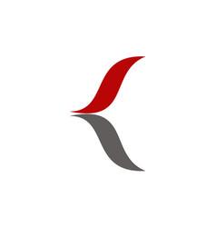 letter c modern vector image