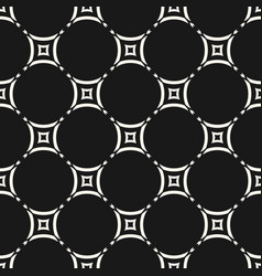 ornamental grid seamless pattern geometric vector image